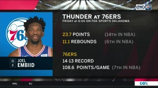 Oklhoma City Thunder vs. Philadelphia 76ers preview | Thunder Live