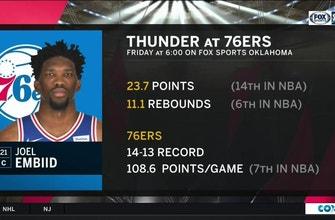 Images of Oklhoma City Thunder vs. Philadelphia 76ers preview | Thunder Live