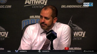Frank Vogel reacts to the loss against the Clippers