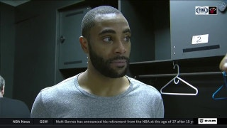 Wayne Ellington on Jordan Mickey: 'He's not a sometimes guy, he's an all the time guy'