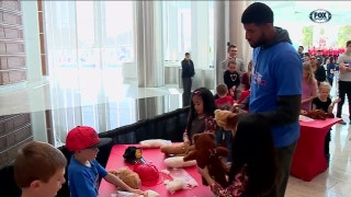 Arts and Crafts with Paul George | Thunder Insider