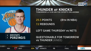 OKC Thunder vs. New York Knicks preview | Thunder Live