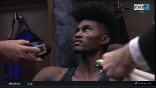 Jonathan Isaac assesses his return to the court