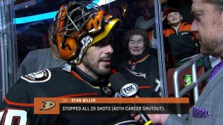 Ryan Miller on his 40th career shutout