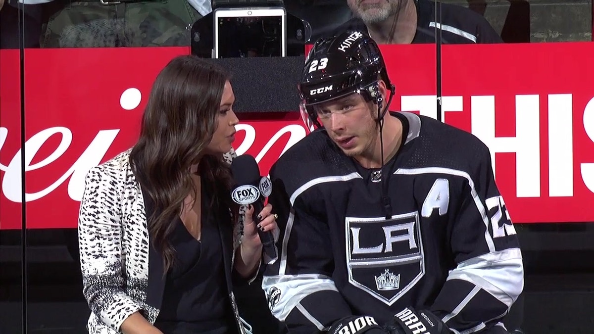 Dustin Brown on the Kings overtime win