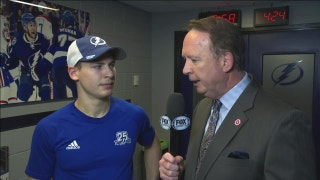 Yanni Gourde on the success of both units scoring goals