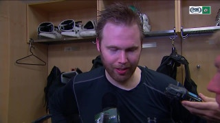Kari Lehtonen: 'I am proud of how our players showed up tonight...'