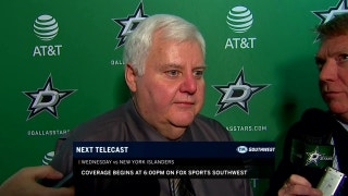 Ken Hitchcock on special teams, Stars OT win over Rangers