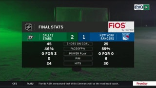 Stars top Rangers in the shootout | Stars Live
