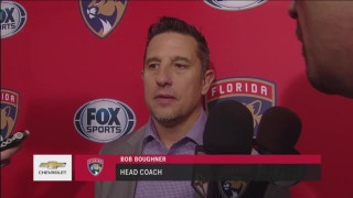 Bob Boughner proud of 'gusty' effort from Panthers