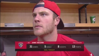Jamie McGinn feels Panthers played well enough to win in Chicago