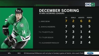 Jamie Benn heating up in December | Stars Live