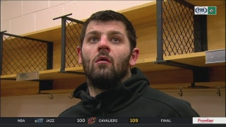 Alexander Radulov on Bishop in loss to Flyers