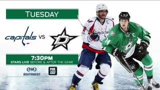 Stars return home to face the Capitals | Stars Live