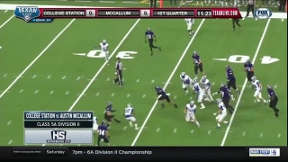 College Station vs. Austin McCallum | High School Scoreboard Live
