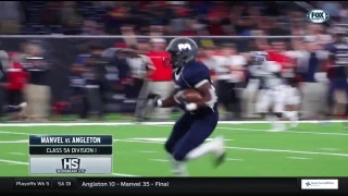 Manvel vs. Angleton | High School Scoreboard Live