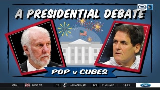 Pop vs. Cubes: A Presidential Debate | Mavs Live