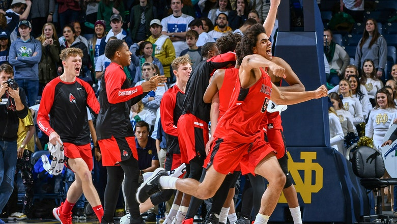 Ball State's Tayler Persons hits contested 3 to knock off No. 9 Notre Dame 80-77