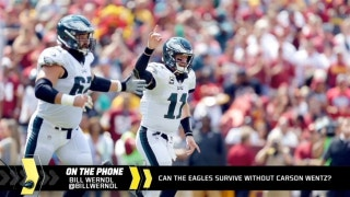 Can the Eagles survive without Carson Wentz?
