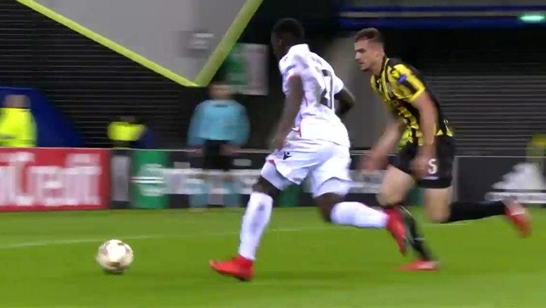 Vitesse vs. Nice | 2017-18 UEFA Europa League Highlights