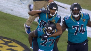 Blake Bortles connects with Keelan Cole for 75-yard touchdown pass