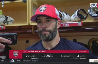 Captain Derek MacKenzie says Panthers came together to get the win