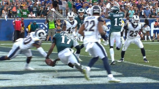 Alshon Jeffery makes ridiculous touchdown catch on 4th and goal to help the Eagles squeak past the Rams