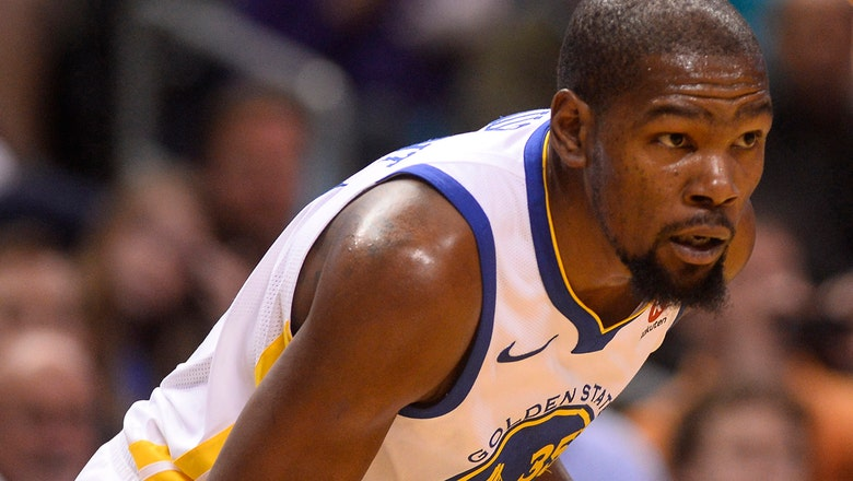 Cris Carter on Kevin Durant's dominant game against the Hornets: 'He looked happy again'