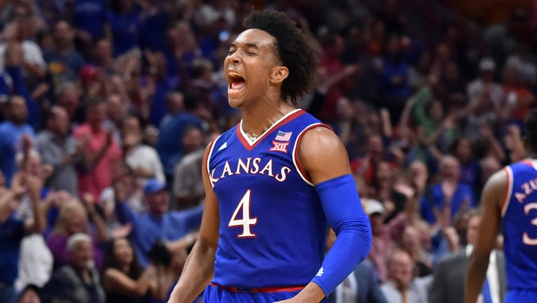 Kansas has chance to claim share of 14th straight Big 12 title at Texas Tech