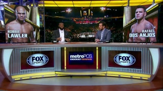 Robbie Lawler vs Rafael Dos Anjos preview | UFC Tonight