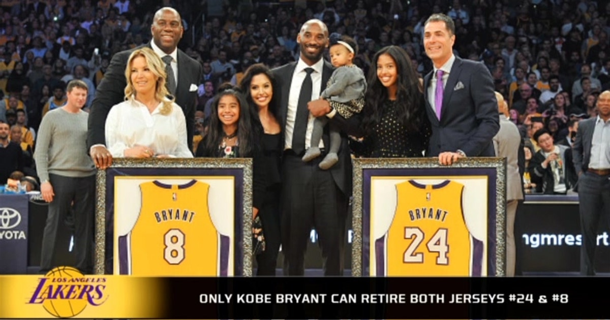 Only Kobe Bryant can retire two jerseys  6b066ffd5