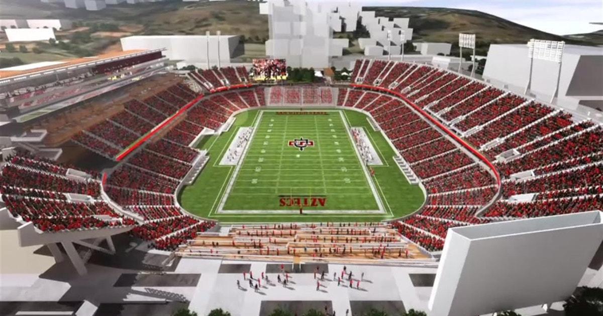 Sdsu Aztec Stadium Plan Fox Sports