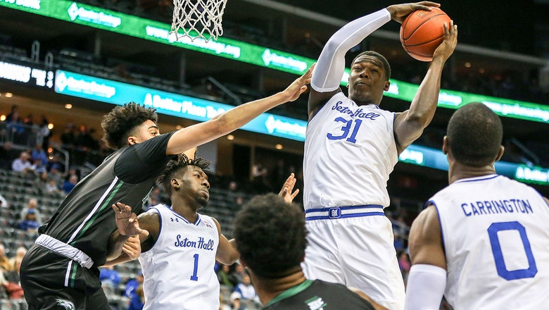 Angel Delgado knotches 8th double-double of the year in No. 23 Seton Hall's 89-68 win over Wagner