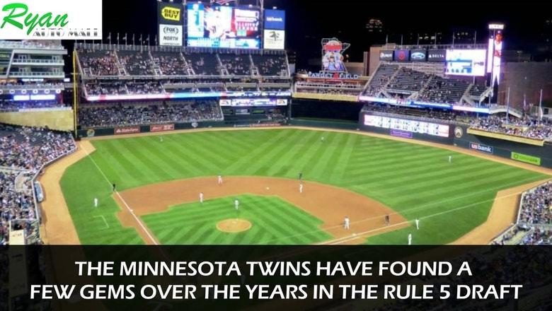 Digital Extra: Twins have found gems via Rule 5 draft