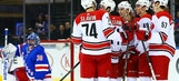 Hurricanes LIVE To GO: Rangers pull away from Hurricanes, 5-1
