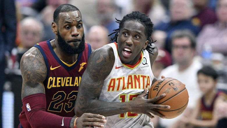 Hawks LIVE To GO: Cavs bury Hawks with a flurry of threes