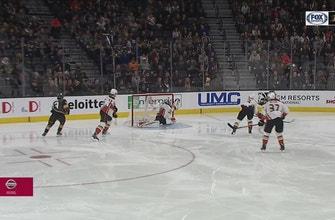 WATCH: Ducks goalie John Gibson commits 'absolute larceny' vs. Golden Knights