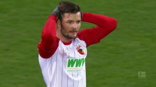FC Augsburg vs. Hertha BSC Berlin | 2017-18 Bundesliga Highlights