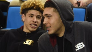 Nick Wright reacts to LiAngelo and LaMelo Ball signing with Lithuanian pro team Prienu Vytautas