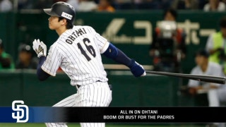 Boom or bust, Padres are all in on Ohtani