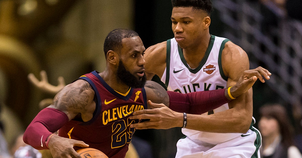 15f1f93587f0 Shannon Sharpe defends LeBron James after the Cavs fell to Giannis and the  Milwaukee Bucks