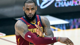 LeBron James sent Kevin Durant and James Harden a message last night, Colin unveils what it was