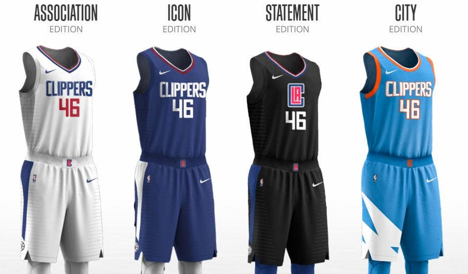 So Fresh So Clean La Clippers Unveil City Edition Jerseys Fox Sports