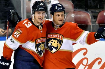Michael Haley comes through in 3rd period, Panthers overtake Jets