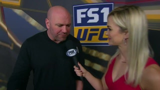 Dana White interview | POST-FIGHT| UFC FIGHT NIGHT