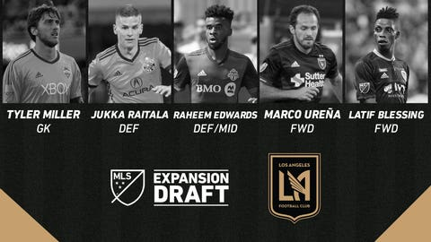 No Chicago Fire players selected in 2017 MLS Expansion Draft