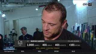 Gaborik scores 401st goal in his 1,000th game