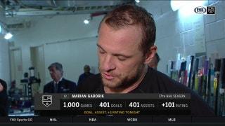 Gaborik scores 401st goal in his 1,000th game