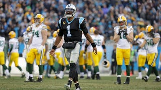 'Watch this!' Cam Newton talks trash to Packers defense before throwing TD pass