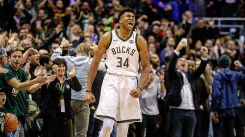 Giannis Antetokounmpo, Bucks forward